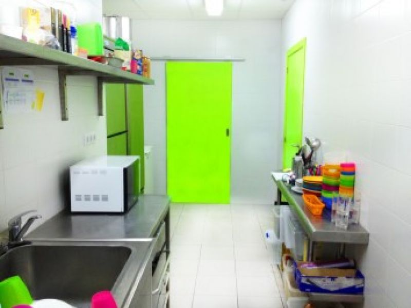 Cocina Escuela Infantil Guarderia Garabatos