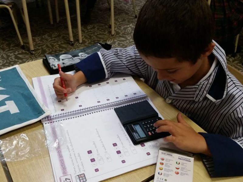 Projecte de matemàtiques que es treballa a Infantil i Primària