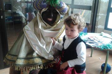 Nos visita el mago-paje Real