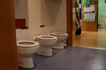 Baño aula 2 a 3 años