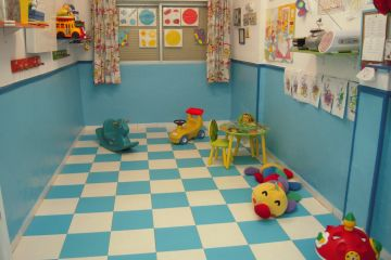 Sala de juegos y actividades de los más peques
