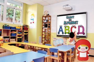 Aulas equipadas con Pizarras Digitales Interactivas