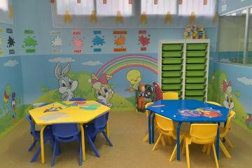 Detalle de una de las aulas de 1 a 2 años